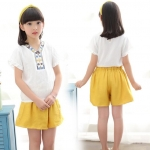 เสื้อ+กางเกง แพ็ค 6 ชุด ไซส์ 110-120-130-140-150-160