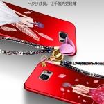 เคส Samsung Note 5 พลาสติกลายผู้หญิงแสนสวย พร้อมที่คล้องมือ สวยมากๆ ราคาถูก (ไม่รวมแหวน)