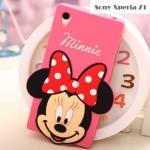 เคสโซนี่ Z1 Case Sony Xperia Z1 ซิลิโคน Disney Mickey มินนี่ มิกกี้ ไมค์ น่ารักมากๆ