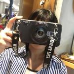 เคส Samsung S9 Plus ซิลิโคนรูปกล้องถ่ายรูปสุดเท่ ตรงเลนส์สามารถยืดออกมาตั้งได้ พร้อมสายคล้อง ราคาถูก