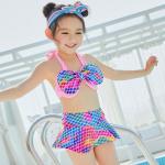 ชุดว่ายน้ำ สีม่วง แพ็ค 5 ชุด ไซส์ XS-S-M-L-XL