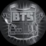 [พร้อมส่ง] เข็มกลัด BTS (2)