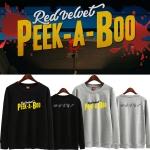 เสื้อแขนยาว (Sweater) Red Velvet - Peek-A-Boo