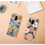 เคส Samsung S9+ (S9 Plus) ซิลิโคน soft case ยืดหยุ่นได้ดีสกรีนลายน่ารักมาก ราคาถูก (พร้อมแหวานและสายคล้องคละสี)