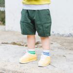 กางเกง สีเขียว แพ็ค 5 ชุด ไซส์ 80-90-100-110-120