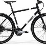 จักรยานไฮบริด Merida Crossway URBAN 100 ,27สปีด เฟรมอลูพร้อมบังโคลน และขาตั้ง ปี 2018