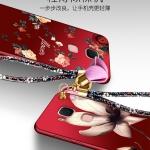 เคส Huawei G7 Plus พลาสติกสกรีนลายดอกไม้ สวยงามมาก ราคาถูก (ไม่รวมแหวน)