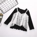 เสื้อ สีดำ แพ็ค 5 ชุด ไซส์ 100-110-120-130-140