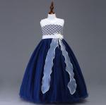 ชุดกระโปรง สีน้ำเงิน แพ็ค 6 ชุด ไซส์ 100-110-120-130-140-150 (เลือกไซส์ได้)