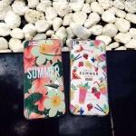 เคส iPhone 6s Plus / 6 Plus (5.5 นิ้ว) พลาสติกลายซัมเมอร์น่ารักมากๆ ราคาถูก