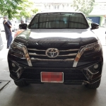 พรม 6D Toyota Fortuner 2017 สีดำแดง