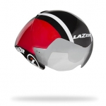 หมวก LAZER WASP AIR THE AERO WEAPON ,สีดำ/แดงขาว Lotto Soudal