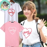 เสื้อยืด (T-Shirt) Heart Club แบบ I.O.I