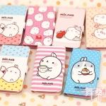 เคส s3 Case Samsung Galaxy s3 III i9300 เคสยอดนิยม Molang กระเป๋าหนังฝาพับ สวยๆ น่ารักๆ Molang Potatoes rabbit holster