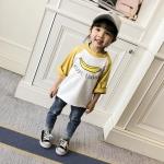 เสื้อ แขนสีเหลือง แพ็ค 5 ชุด ไซส์ 80-90-100-110-120