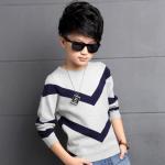 เสื้อ สีเทา แพ็ค 5 ชุด ไซส์ 130-140-150-160-170 (เลือกไซส์ได้)