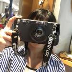 เคส Huawei P10 ซิลิโคนรูปกล้องถ่ายรูปสุดเท่ ตรงเลนส์สามารถยืดออกมาตั้งได้ พร้อมสายคล้อง ราคาถูก