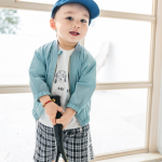 เสื้อคลุม สีฟ้า แพ็ค 5 ชุด ไซส์ 80-90-100-110-120