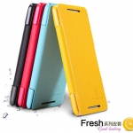 Nillkin fresh series flip shell Case Cover For HTC 601E ONE Mini M4