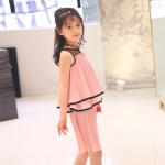 เสื้อ+กางเกง สีชมพู เเพ็ค 6 ชุด ไซส์ 110-120-130-140-150-160