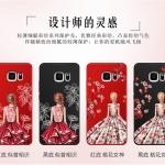 เคส Samsung S6 พลาสติกลายผู้หญิงแสนสวย พร้อมที่คล้องมือ สวยมากๆ ราคาถูก