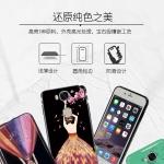 เคส Huawei GR5 พลาสติกลายผู้หญิงสวยงามมาก ขอบประดับคริสตัล ราคาถูก (ไม่รวมสายคล้อง)