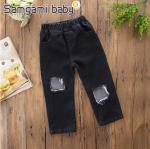 กางเกง สีดำ แพ็ค 5ชุด ไซส์ 80-90-100-110-120 (เลือกไซส์ได้)