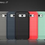 เคส Samsung J7 พลาสติก TPU สีพื้นเรียบ เท่ สวยงามมาก ราคาถูก