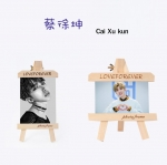 กรอบรูปไม้ Cai Xu Kun - Idol Producer