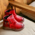 รองเท้าเด็กแฟชั่น สีแดง แพ็ค 5 คู่ ไซส์ 27-28-29-30-31