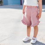 กางเกง สีชมพู แพ็ค 5ชุด ไซส์ 80cm-90cm-100cm-110cm-120cm