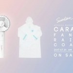 [#SEVENTEEN] CARAT FAN&RAIN COAT LIMITED EDITION (พัดลม)
