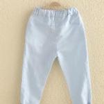 กางเกง สีฟ้าอ่อน แพ็ค 5 ชุด ไซส์ 100-110-120-130-140 (เลือกไซส์ได้)