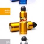 กระป๋องน้ำ อลูมิเนียม Roswheel 750มล. (52136)มีสีทอง