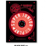 อัลบั้ม #SuperJunior - Album Vol.8 [PLAY] Black Suit Ver.