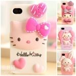 case iphone 5 KITTY MY MELODY WISH ME MELL ซิลิโคน 3D เคสมือถือราคาถูกขายปลีกขายส่ง