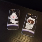 เคส iPhone 6s / iPhone 6 (4.7 นิ้ว) พลาสติกลายการ์ตูนอวกาศน่ารักมาก ราคาถูก