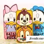 เคส ZenFone 5 ดิสนีย์อัสซุส Asus Zenfone 5 Z5 ซิลิโคนมินี่ มิกกี้ ชิฟเดล เดซี่ โดนัลด์ คล้ายแบบภาพวาด -B-