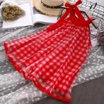 ชุดกระโปรง สีแดง แพ็ค 5 ชุด ไซส์ 7-9-11-13-15