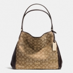 COACH EDIE SHOULDER BAG 31 IN SIGNATURE JACQUARD Style No: 36466