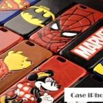 เคส iphone 6 4.7 นิ้ว PC + แผ่นหลังหนังเทียมลายการ์ตูนสุดเท่ ราคาส่ง ขายถูกสุดๆ -B-