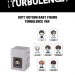 [#GOT7] BABY FIGURE (TURBULENCE VER.) LIMITED EDITION (ระบุศิลปิน)