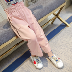 กางเกง สีชมพู แพ็ค 5 ชุด ไซส์ 100-110-120-130-140