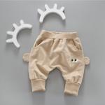 กางเกง สีน้ำตาล แพ็ค 4ชุด ไซส์ 80-90-100-110 (เหมาะสำหรับ 6ด.-4ปี)