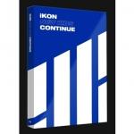อัลบั้ม #iKON - Mini Album [NEW KIDS : CONTINUE] : BLUE VER.