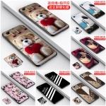 เคส iPhone 4s / 4 ซิลิโคนแบบนิ่มสกรีลาย love collection พร้อมแหวนเข้าชุดสวยงามมาก ราคาถูก