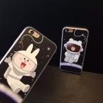 เคส iPhone 6s Plus / 6 Plus (5.5 นิ้ว) พลาสติกลายการ์ตูนอวกาศน่ารักมาก ราคาถูก