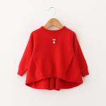 เสื้อ สีแดง แพ็ค 4 ชุด ไซส์ 70-80-90-100