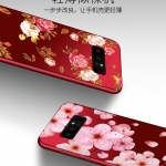 เคส Samsung Note 8 ซิลิโคนแบบนิ่ม สกรีนลายดอกไม้ สวยงามมากพร้อมสายคล้องมือ ราคาถูก (ไม่รวมแหวน)