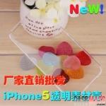 case iphone 5 เคสไอโฟน5 เคส3 สไตล์ ใสปิ๊ง ดำเข้ม ขาวจั๊วะ